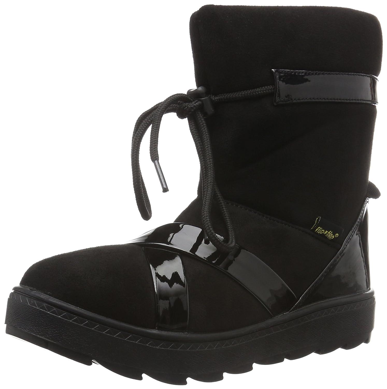 Flip*Flop Cross Boot, Botines para Mujer41 EU|Negro - Negro