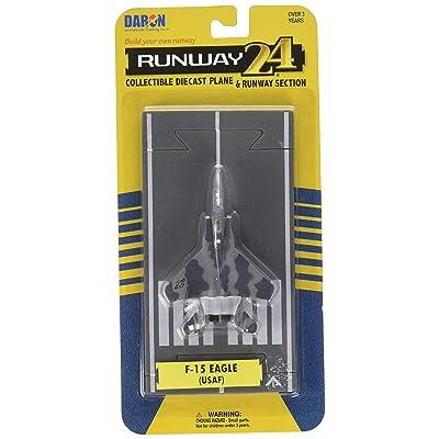 Daron Worldwide Trading Runway24 F-15 Military Vehicle: Toys & Games