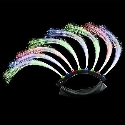 Amazon.com: Pelucas de indio mohicano, de Fun Central Light ...