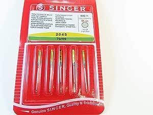Singer Jersey de agujas 2045/Grosor 70/130/705 H de S/5 agujas ...