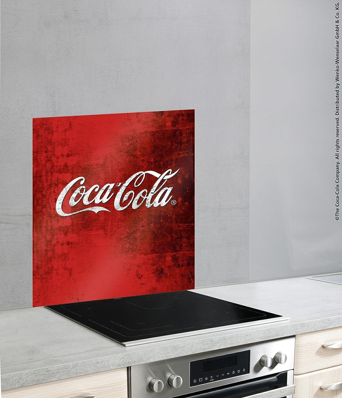 Amazon De Wenko Glasruckwand Coca Cola Classic Spritzschutz