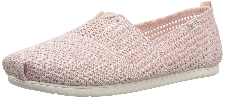 Skechers Women's Plush Lite-Peek Ballet Flat B074VD1GDQ 6.5 B(M) US|Light Pink