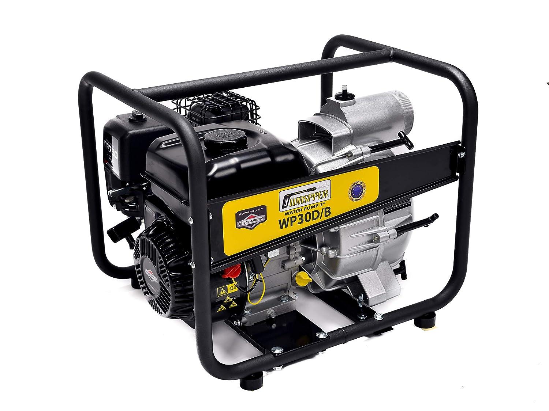 Blackpoolal Benzin Wasserpumpe 4 takt 7.5 HP Benzinmotor Gartenpumpe Motorpumpe Schmutzwasserpumpe 4 78 kW 3600r//min Schlamm Pumpe Teichpumpe 2 Zoll Wasserauslauf