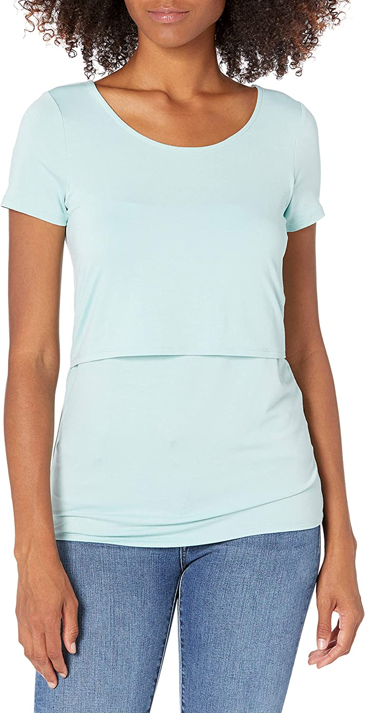 Cake Maternity Damen Womens Maternity and Nursing Winter Hoodie Holzkohle Medium T-Shirt Charcoal