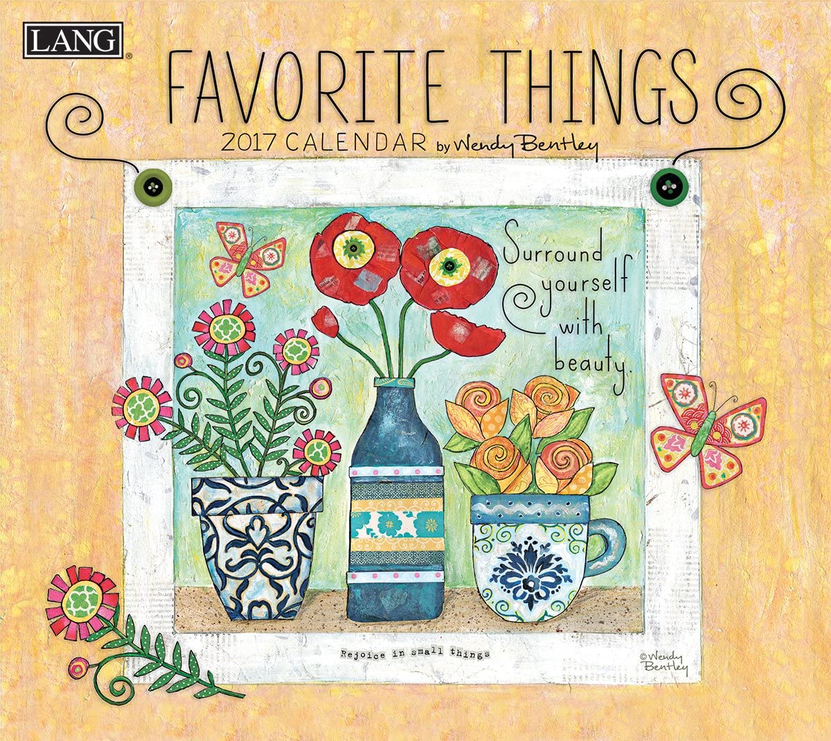 Lang 2017 Favorite Things Wall Calendar, 13.375 x 24 inches (17991001857)