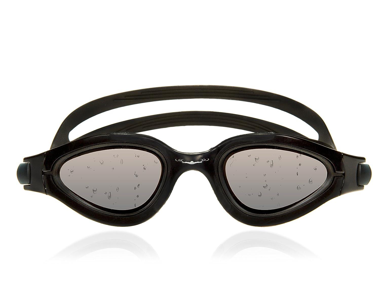 6e81665300b Amazon.com   AqtivAqua Swimming Goggles Polarized ~ Unisex Adults Swim  Goggles for Men Women Children Boys Girls (Black Goggle + Black Case)    Sports   ...