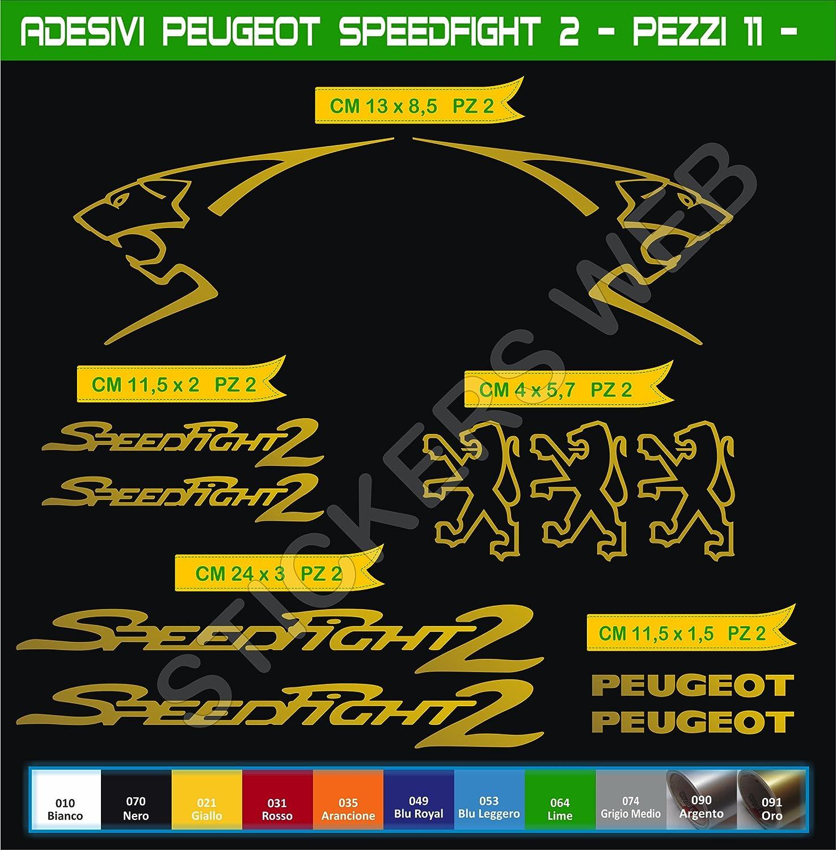 0560 Adh/ésifs Stickers pegatina Peugeot SPEEDFIGHT2 Moto Motorcycle cod