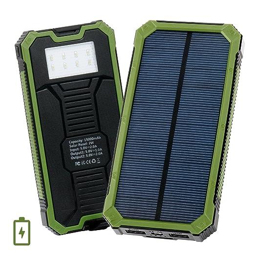 58 opinioni per Caricatore solare, Levin® Caricabatterie