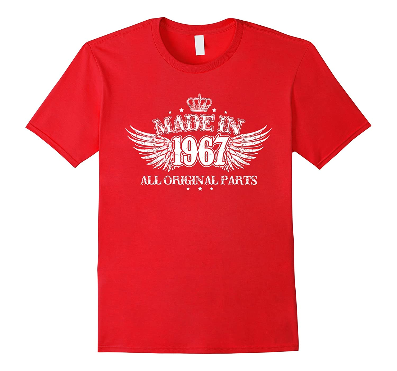 Made In 1967 T Shirt 50 Year Old Birthday Gifts Best Gifts-Vaci