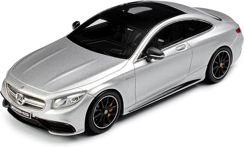 Spark Mercedes-Benz S-Klasse S63 AMG Coupe C217 Iridium Silber Magno Ab 2014 1//43 Modell Auto mit individiuellem Wunschkennzeichen