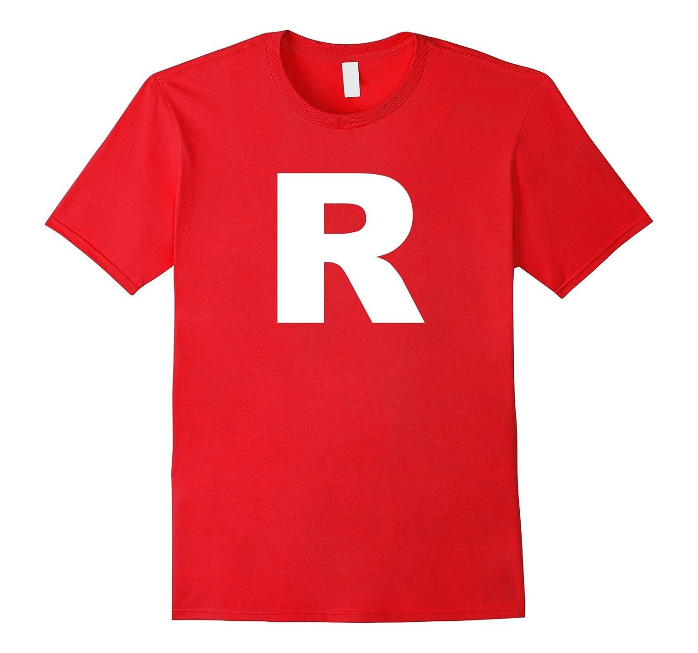 Letter R T Shirt - Letter R Tshirt - R Letter-T-Shirt