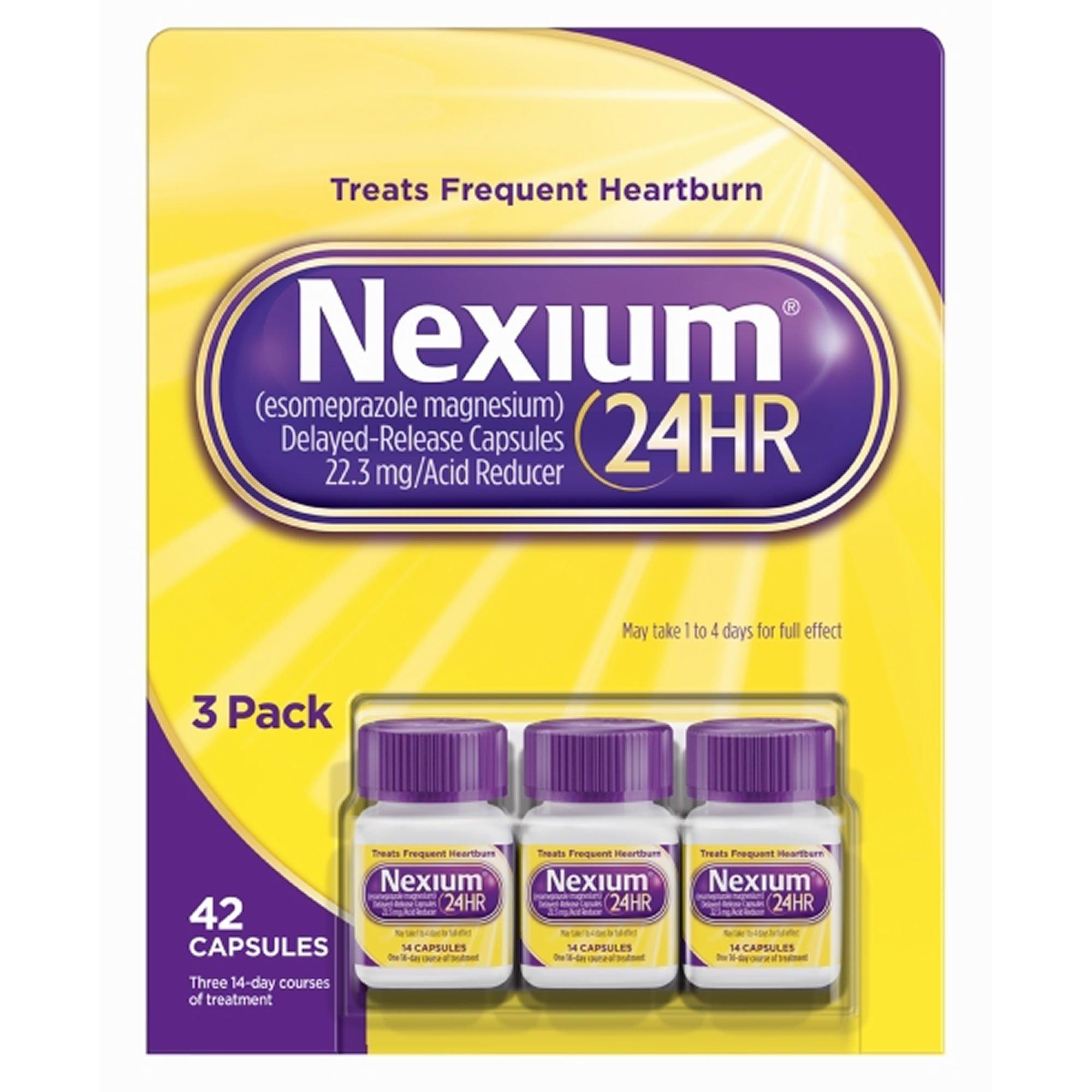 Nexium 24HR Acid Reducer, 42 ct. (pack of 6)