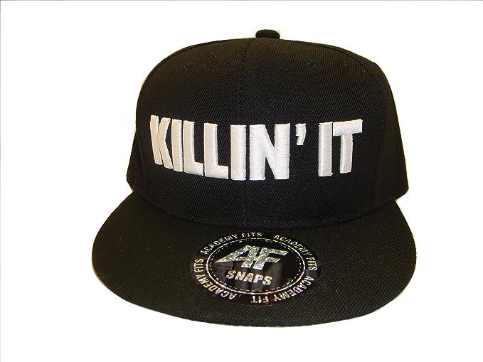 6212cf86e7a33a THS Killin' It Flat Bill Snapback Baseball Cap Compton Spoof at ...