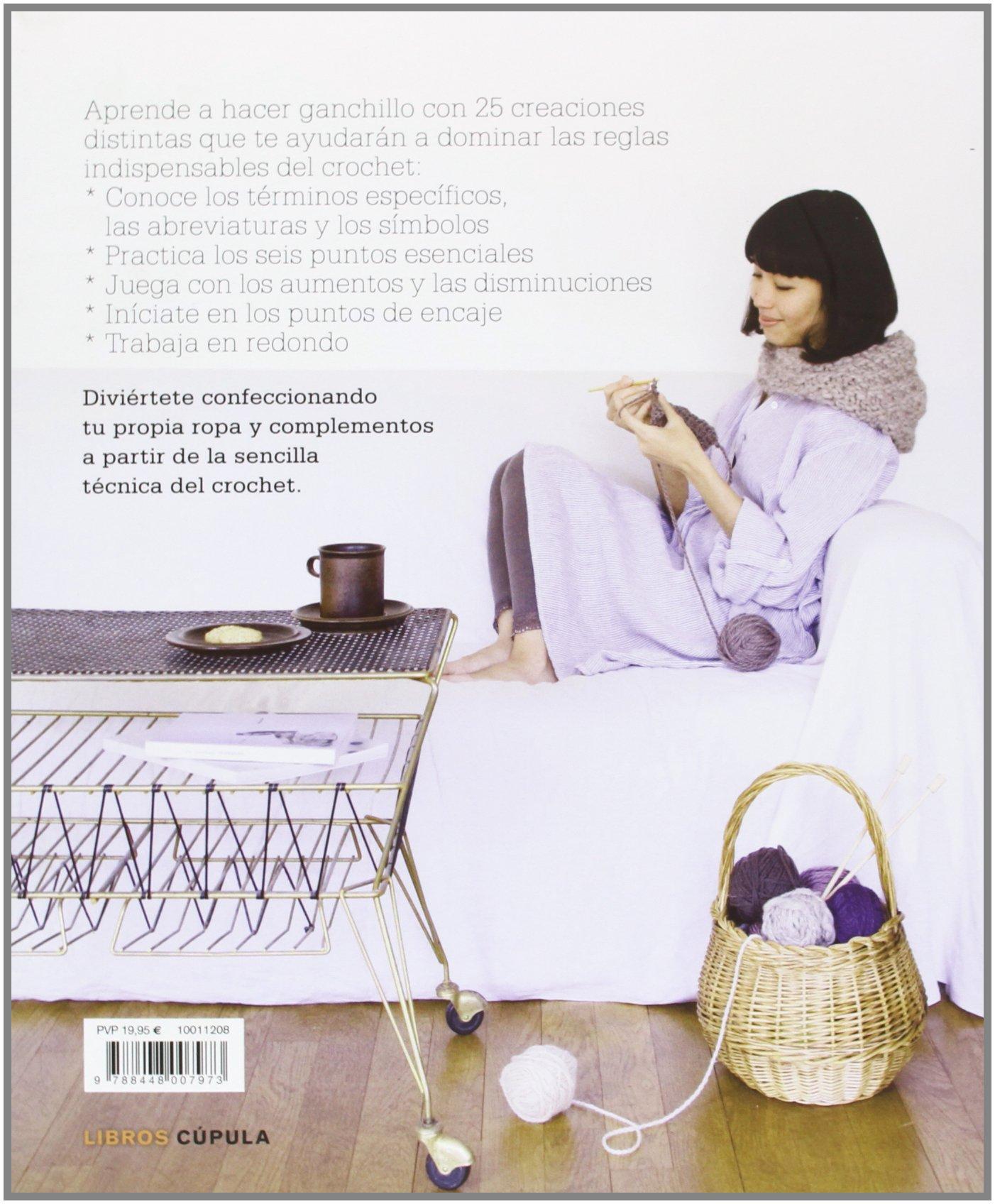 Curso de crochet: Aprender en 25 lecciones Manualidades: Amazon.es ...
