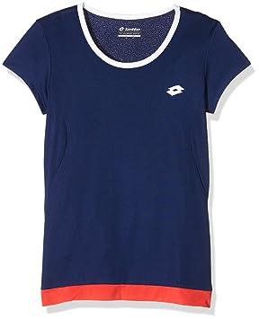 Lotto Sport T-Shirt Piper W G - Camiseta, color azul, talla xs