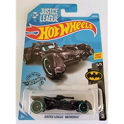Hot Wheels 2020 Batman Justice League Batmobile, 66/250 Black: Toys & Games