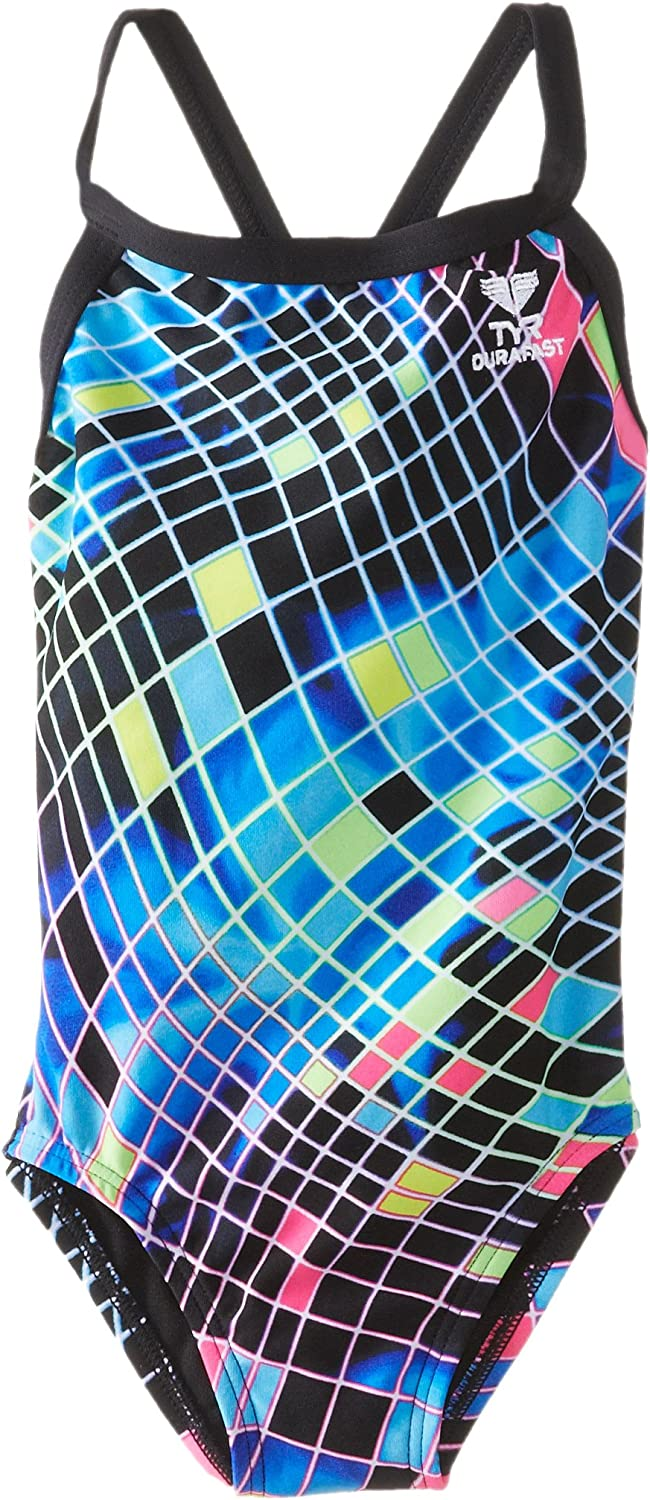 TYR SPORT Girl's Disco Inferno Diamondfit Swimsuit