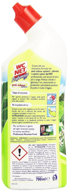 WC Net Limpiador de tuberías perfumado, fresco olor a lima, 700 ml.: Amazon.es: Alimentación y bebidas