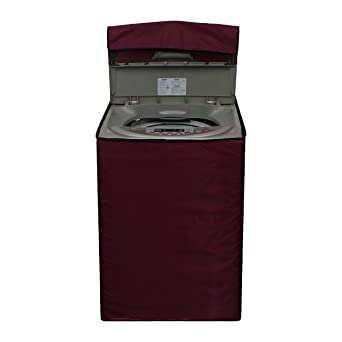 Dream Care maroon coloredWashing machine cover for SAMSUNG top load wa65h3h5qrp 6.5kg Model Washing Machine Covers