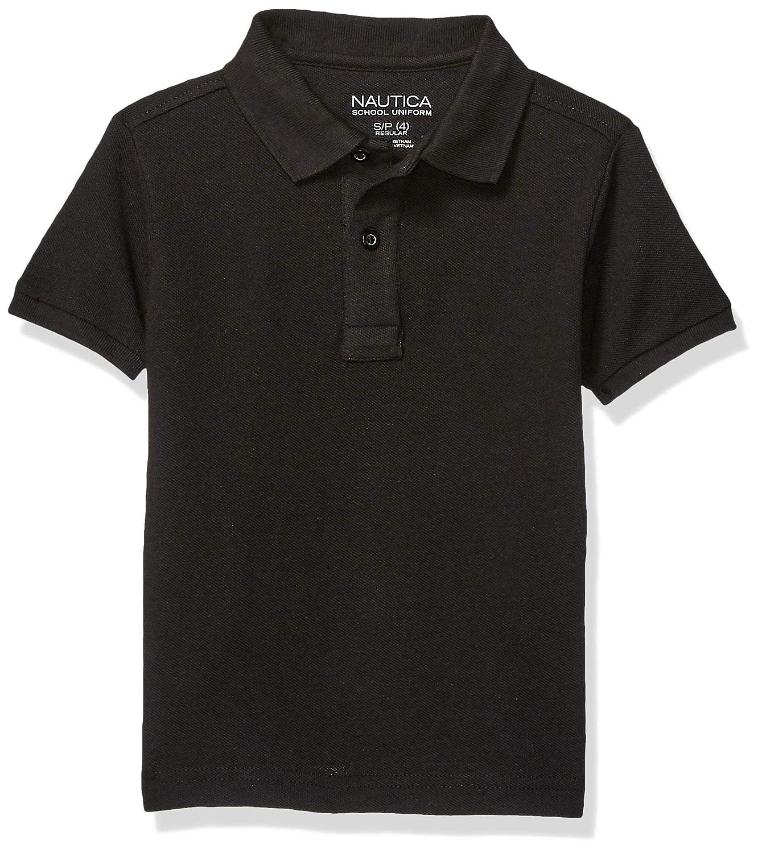 Nautica Boys Uniform Short Sleeve Polo