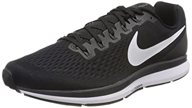 3c38605d20f Nike Men s s Air Zoom Pegasus 34 Running Shoes White Blue  Amazon.co ...