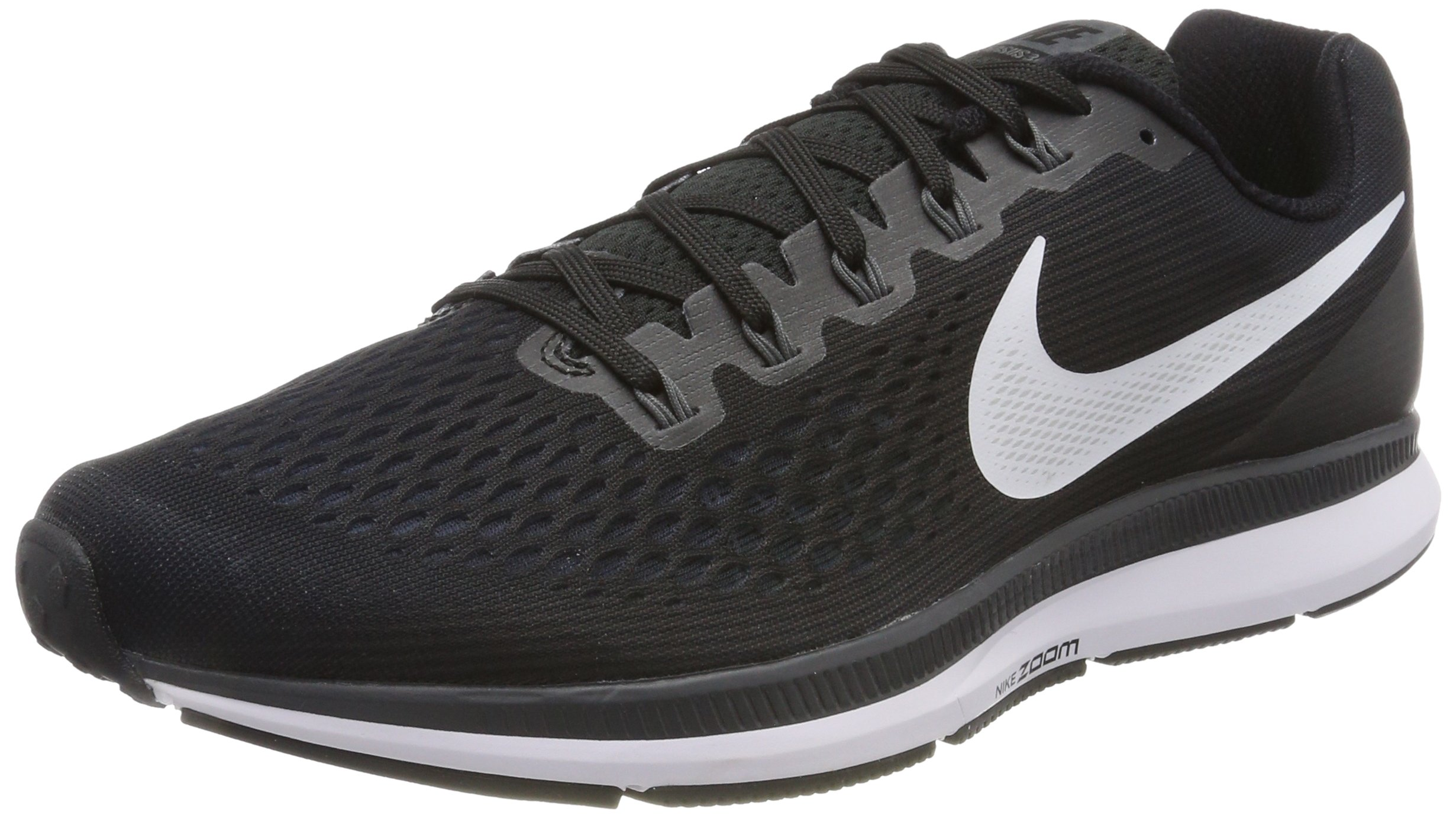 NIKE Mens Air Zoom Pegasus 34 Running Shoe Black/White/Dark Grey/Anthracite 12.5 D(M) US by NIKE