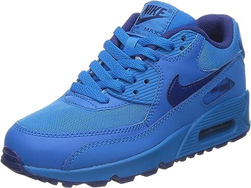 Comprensión Pacífico legación  Nike Unisex Kids' 307793-091 Low-Top Sneakers Blue Size: 3 UK:  Amazon.co.uk: Shoes & Bags