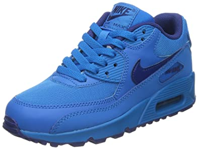 Nike Air Max 90 (GS) Schuhe photo blue-deep royal blue - 37,5 ... 00860b977dba