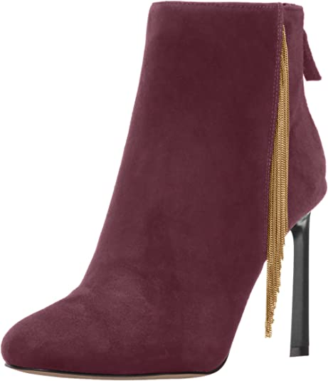 Nine West Womens Quilby Suede Ankle Boot