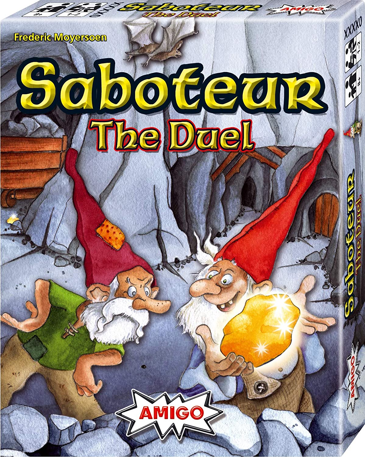 Saboteur Duel Card Game 2 Players