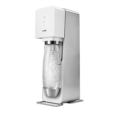 Sodastream Source Metal Starter Kit - Máquina para soda (60L, 12 cm, 22