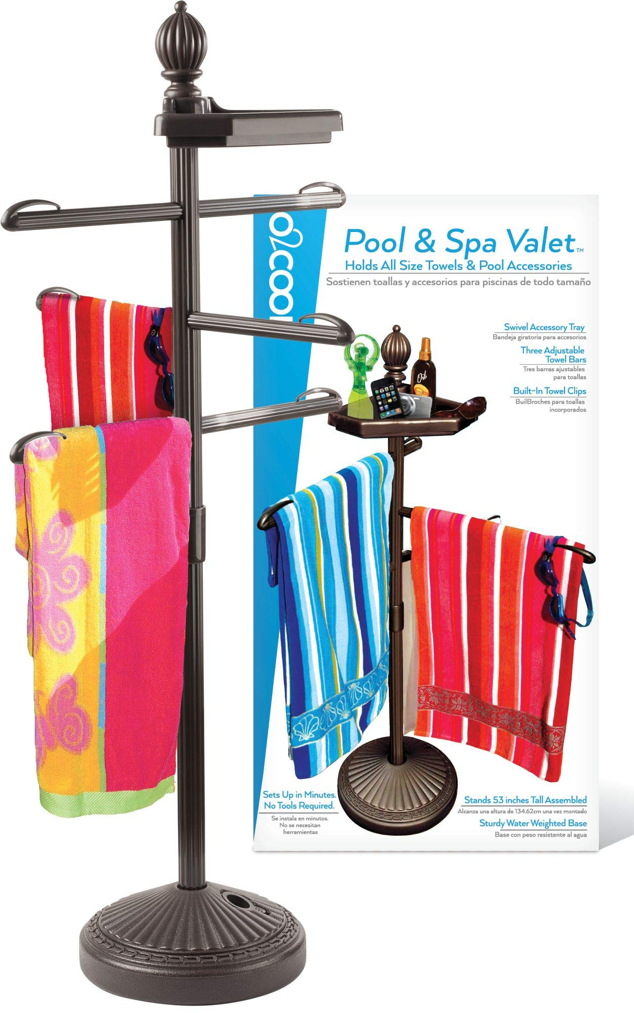 O2COOL Pool & Spa Valet, Bronze