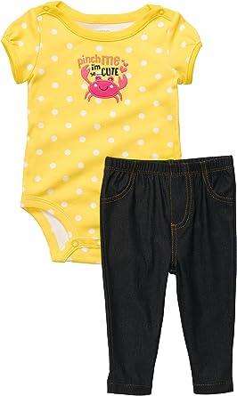 Carters Toddler Girls Polka Dot Jeggings Set
