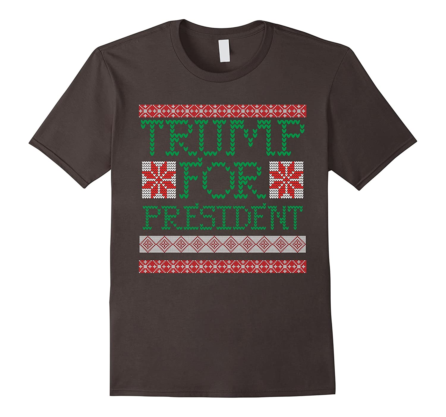 Donald Trump for President Ugly Christmas Sweater T-shirt