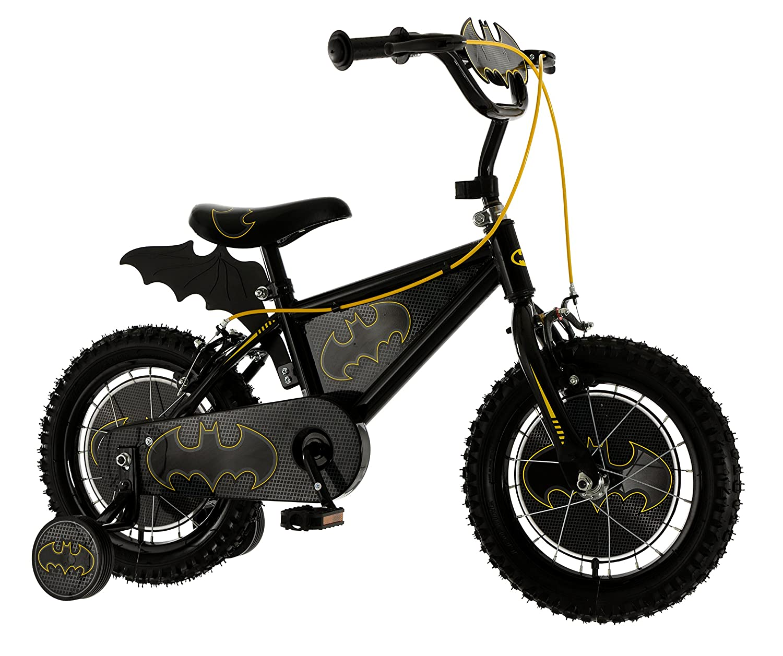 Batman 14 Inch Kids Bat Bike MV Sports Ages 4 Years+