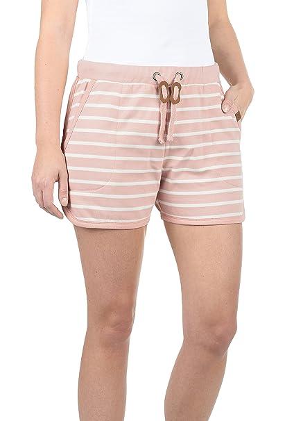 BlendShe Kira Pantalón De Chándal Corto Sweat- Shorts para Mujer ...