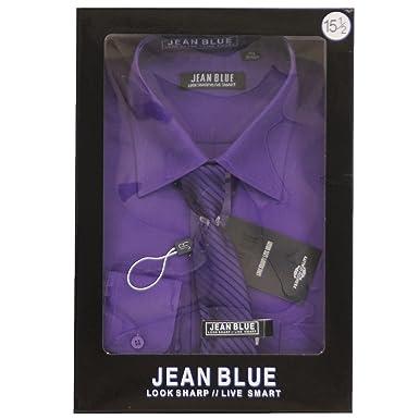 Set de Camisa de Manga Larga y Corbata Formal para Hombre Estilo ...