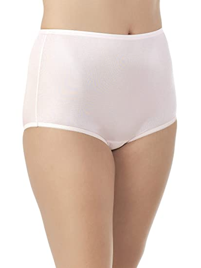 752902797 Vanity Fair Women s Perfectly Yours Ravissant Tailored Nylon Brief Panty -  Size Small   5 -