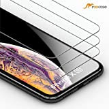 rooCASE 3-Pack Screen Protector for iPhone XR, [Force Resistant Up to 44 Pounds] Tempered Glass Screen Protector for iPhone XR 6.1-inch (2018) - 9H Hardness, Easy Installation [Case Friendly]
