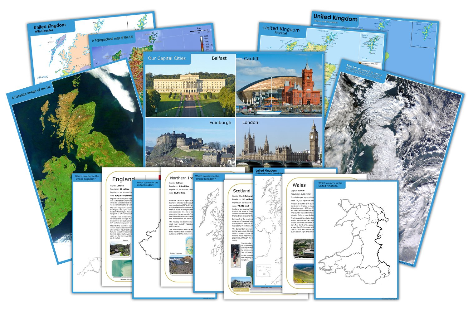 United kingdom teach display map classroom pack 2014 geography united kingdom teach display map classroom pack 2014 geography curriculum ks1 amazon office products gumiabroncs Choice Image
