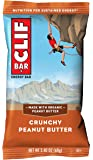 CLIF BAR - Energy Bars - Crunchy Peanut Butter - (2.4 Ounce Protein Bars, 18 Count)