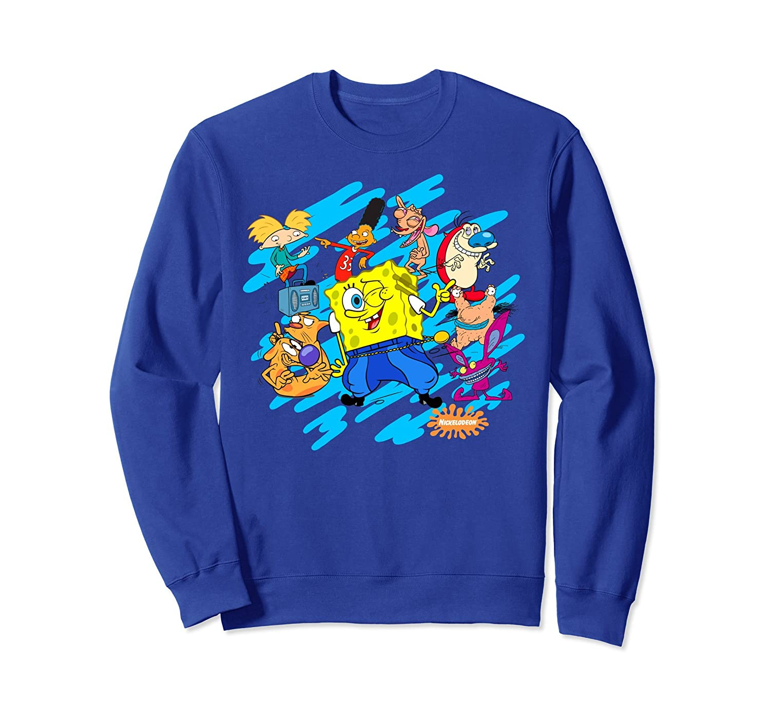 Nickelodeon block party Spongebob Sweatshirt-alottee gift