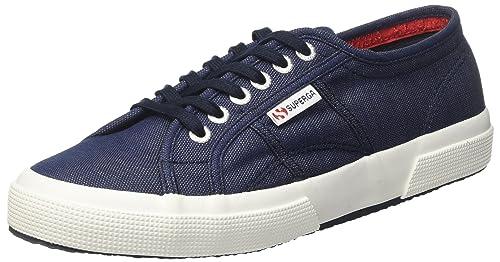 Superga 2750-Italianshirt Cotm, Sneaker a Collo Basso Uomo, Blue Lt Indigo, 44 EU