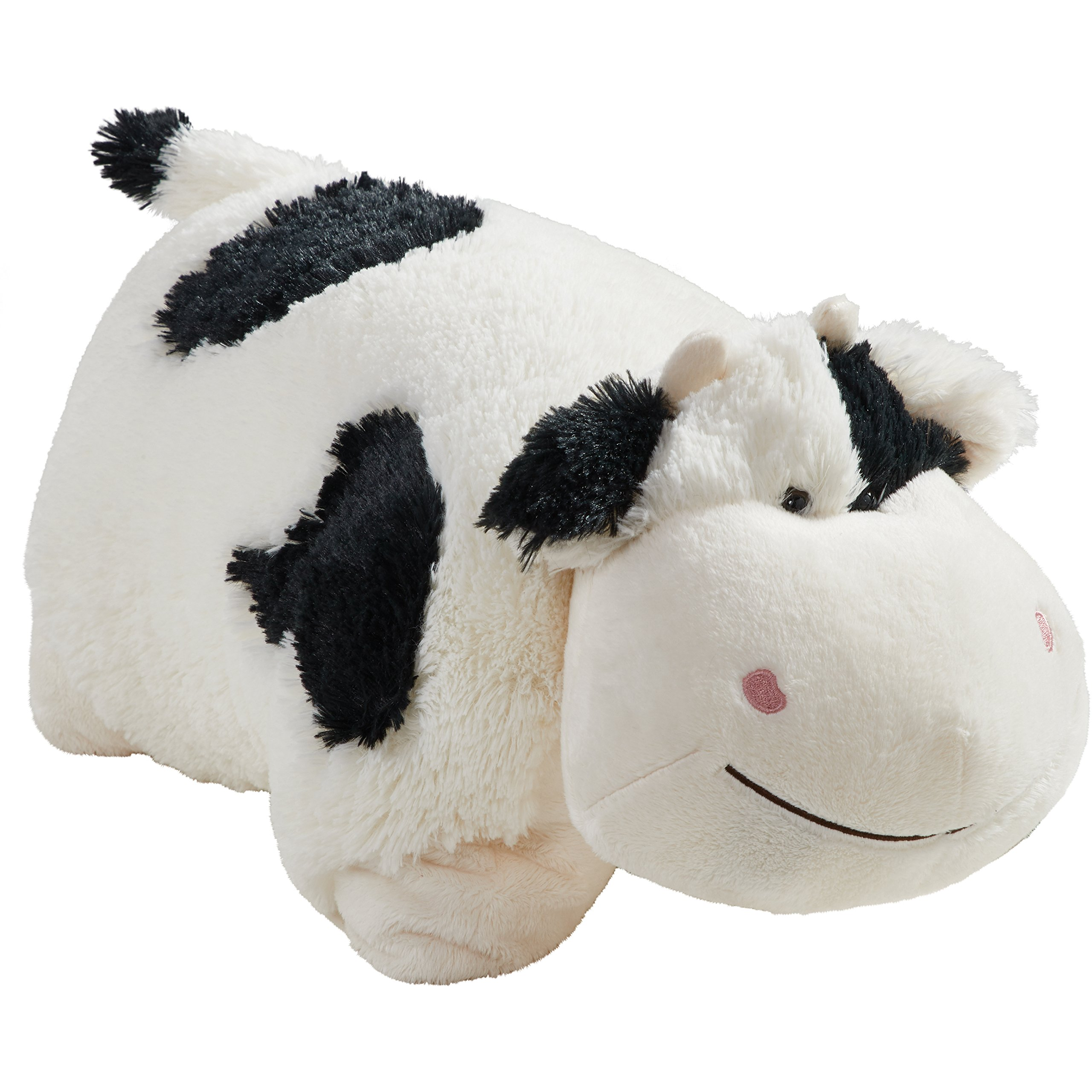 Pillow Pets Signature Cozy Cow 18'' Stuffed Animal Plush Toy