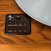 Amazon.com: Tocadiscos 1byone con correa de transmisió ...
