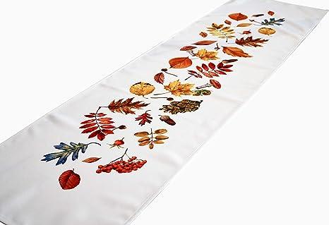 Apofly No/ël Chemin de Table Faux Blanc Milou en Fourrure de Table Table Linge de Table en Peluche Tissu pour la Maison de Vacances D/écorations de No/ël