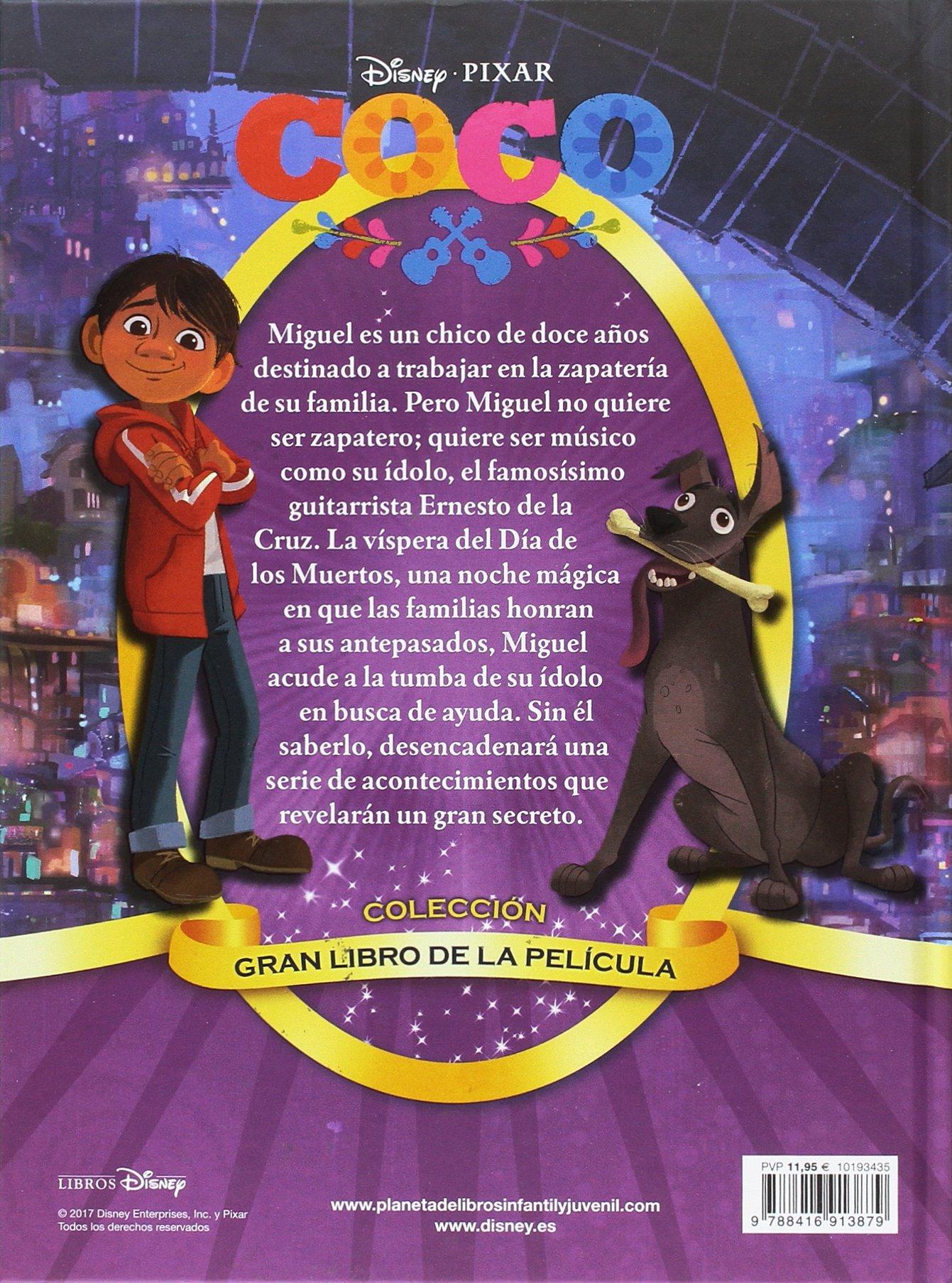 Gran libro de la película (Disney. Coco): Amazon.es: Disney, Editorial Planeta S. A.: Libros en idiomas extranjeros