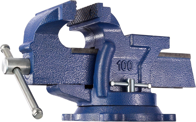 Tornillo de Banco Yunque Plato 150 mm Giratorio 360/° para Banco de Trabajo