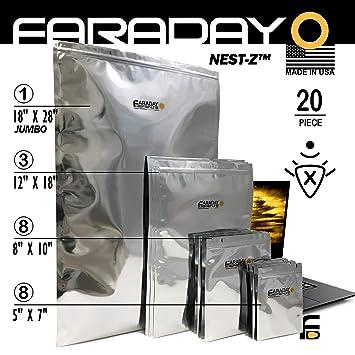 Faraday Cage - Bolsas solares de Grado Militar para ...