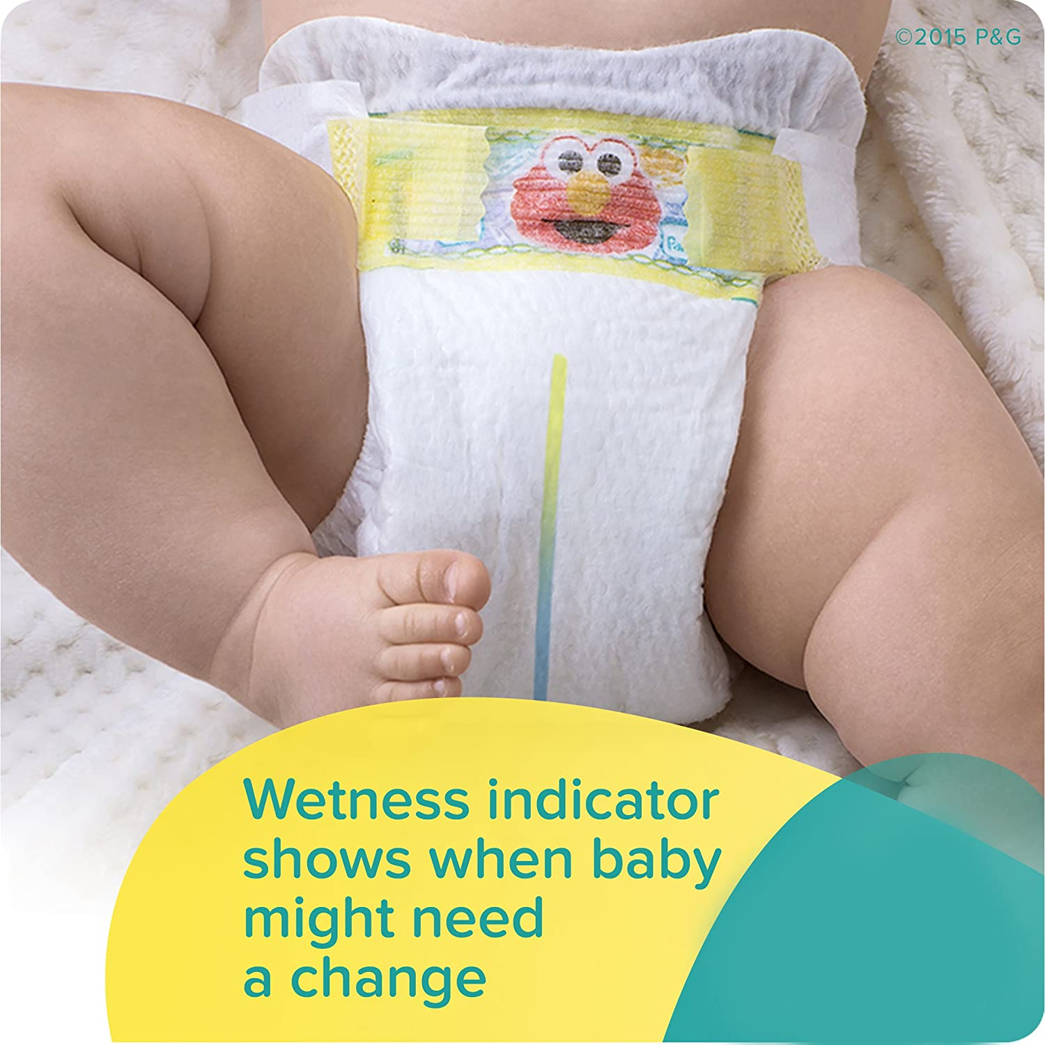 Amazon.com: Pampers Swaddlers Disposable Diapers Size 2, 204 Count, ONE MONTH SUPPLY: Health & Personal Care